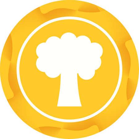 Tree Glyph  Icon