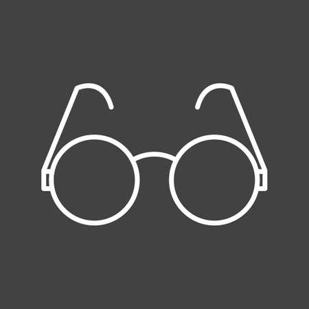 Unique Sunglasses Vector Line Icon Stock fotó - 137895474