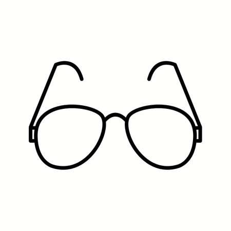 Unique Reading Glasses Vector Line Icon Reklamní fotografie - 137895669