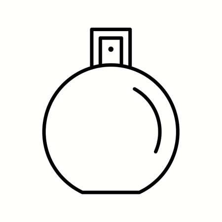 Unique Perfume Bottle Vector Line Icon Stock fotó - 137895144