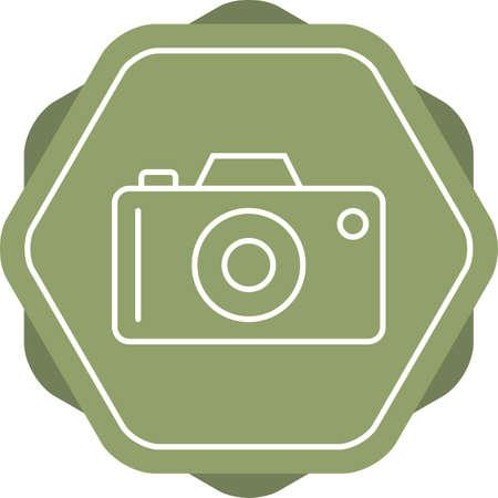 Unique Camera Line Vector Icon Banco de Imagens - 138262101