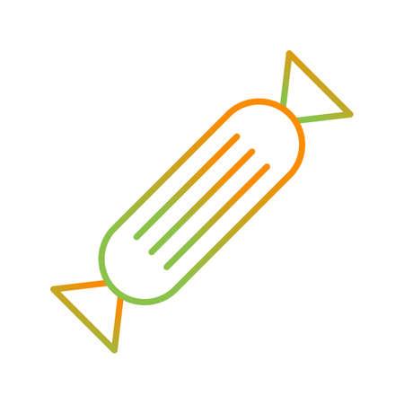 Unique Candy Vector Line Icon