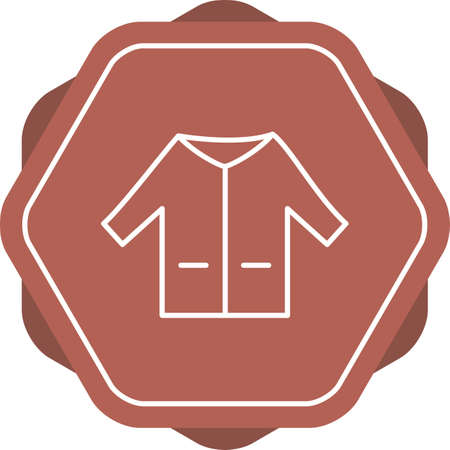 Unique Sweater Vector Line Icon