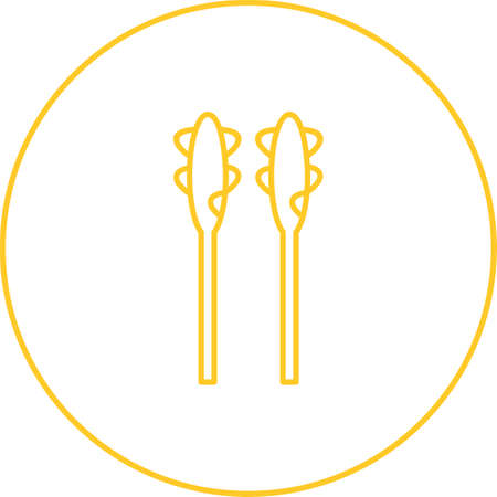 Unique Asparagus Vector Line Icon
