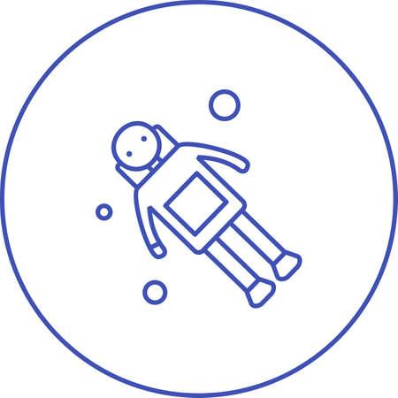 Unique New Moon Vector Glyph Icon 版權商用圖片 - 137949311