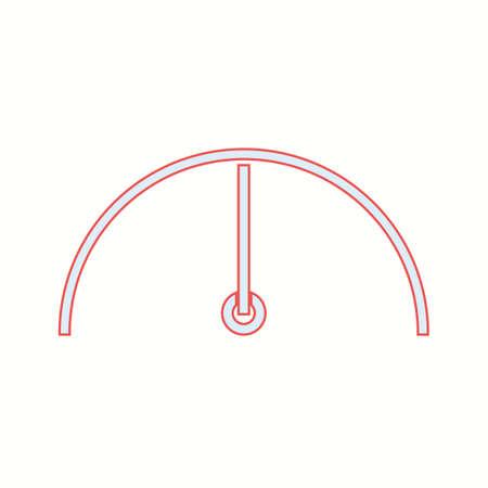 Unique Limit Vector Line Icon Çizim