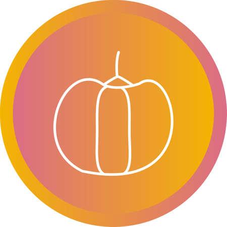 Unique Pepper Vector Line Icon