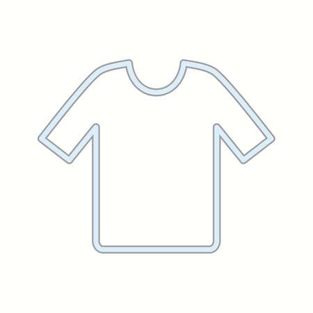 Unique Shirt Vector Line Icon 向量圖像