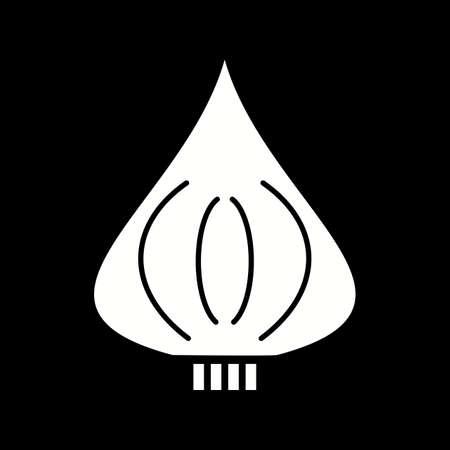 Unique Beet Vector Glyph Icon