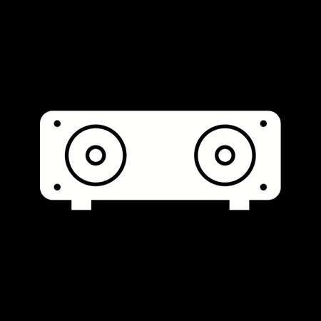 Unique Speakers Vector Glyph Icon