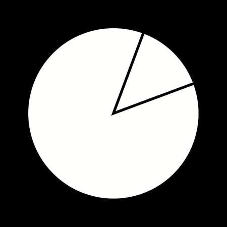 Unique Data Usage Vector Glyph Icon