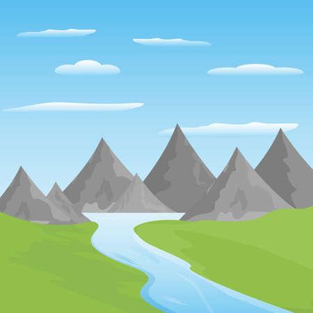 Unique landscape of mountain & greenery 版權商用圖片 - 149949934