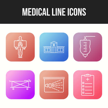 Medical icons pack for personal and commercial use.