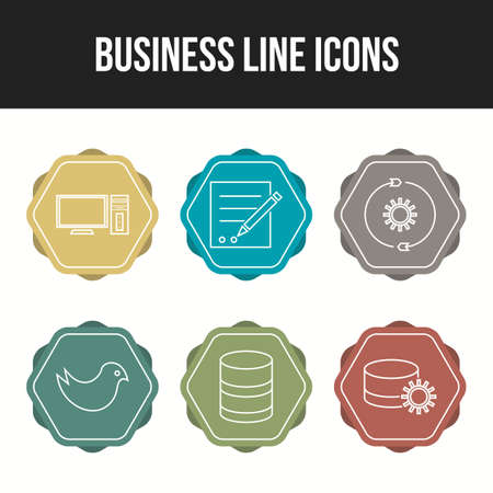 Beautiful Business icons for commercial use