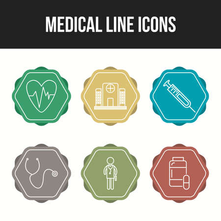 Medical icons for personal and commercial use