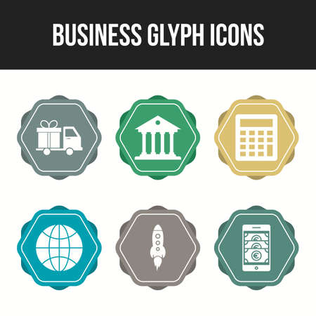 Business vector icons pack for personal and commercial use 向量圖像