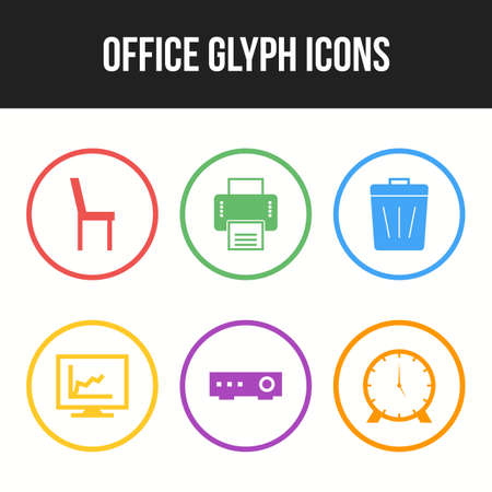 Beautiful Office icons for personal and commercial use.