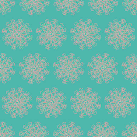 Unique Style Colorful Ornamental Pattern 免版税图像 - 157922718