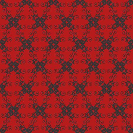 Unique Style Colorful Ornamental Pattern