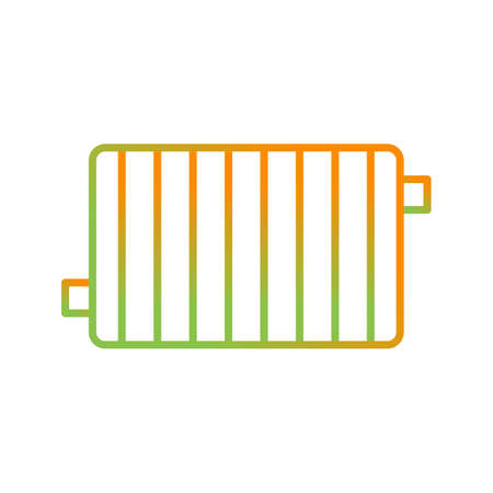 Unique Radiator Line Vector Icon