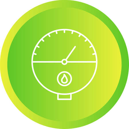 Unique Tankless Water Heater Line Vector Icon Ilustracja