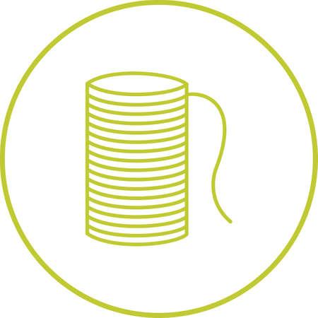 Unique Thread Line Vector Icon