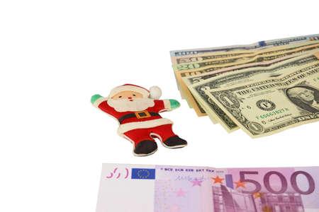 Christmas , Dollars and Euro