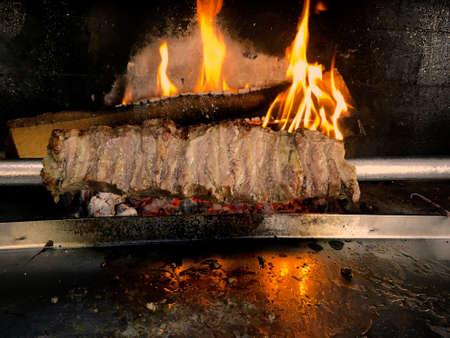 CaÄŸ Kebap,Turkish Kebab Stock Photo