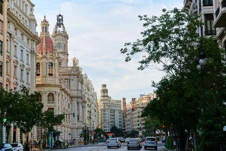 City view Valencia, Spain Editorial