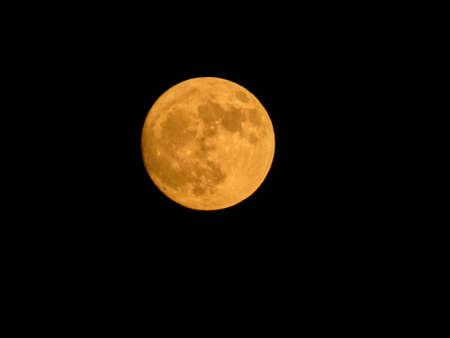Photo of a beautiful full moon