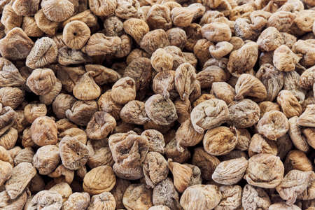 Dried fig in the local market