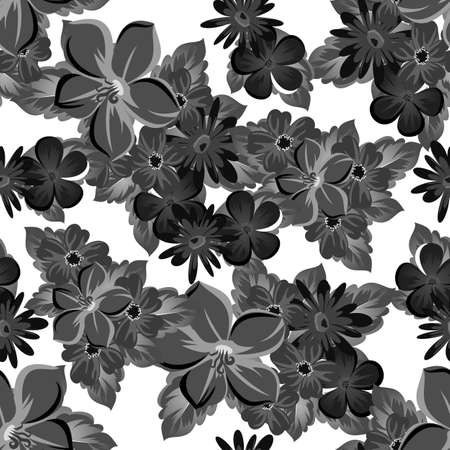 abstract background of flowers. Ilustrace
