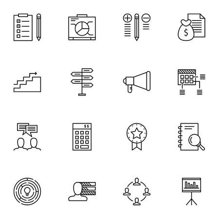 more money: Set Of Project Management Icons On Research, Money Revenue, Creativity And More. Illustration