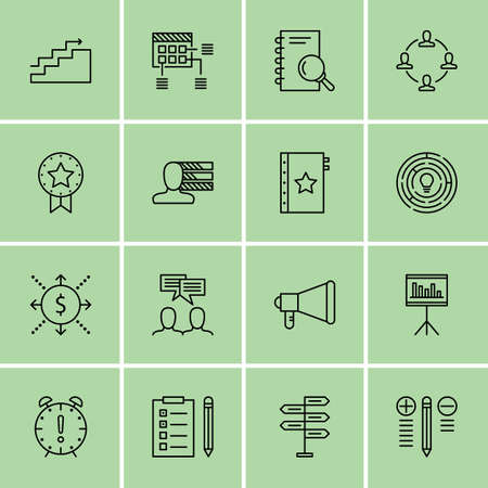 project deadline: Set Of Project Management Icons On Quality Management, Deadline, Task List And More.