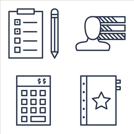 personality development: Set Of Project Management Icons On Quality Management, Investment, Personality And More.