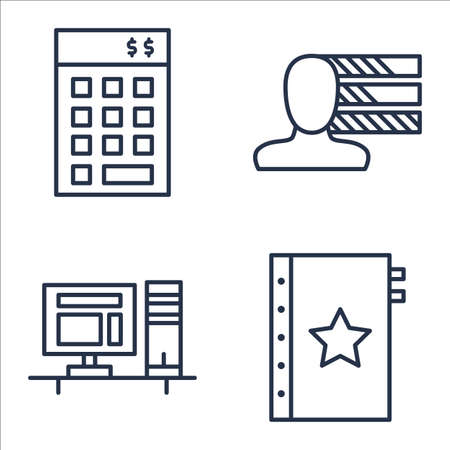 personality: Set Of Project Management Icons On Personality, Quality Management, Investment And More.