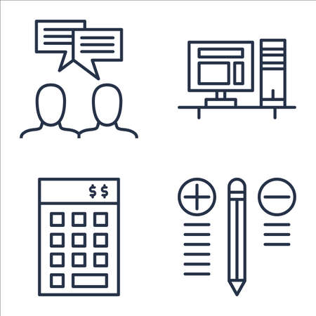 team meeting: Set Of Project Management Icons On Investment, Best Solution, Team Meeting And More.