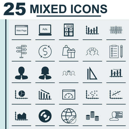 Set of 25 universal icons on blank cd plot diagram reminder universal icons on plot diagram blank cd financial and more topics vector icon set including loading speed blank cd raise diagram and other icons ccuart Gallery