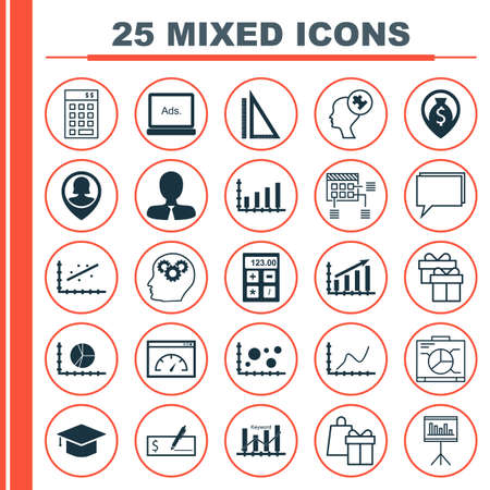 display problem: Set Of 25 Universal Icons On Keyword Optimisation, Board, Bank Payment And More Topics. Vector Icon Set Including Loading Speed, Shopping, Digital Media And Other Icons.