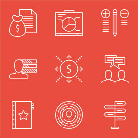 more money: Set Of Project Management Icons On Discussion, Report, Opportunity And More. Includes Report, Money, Opportunity And Other Vector Icons.