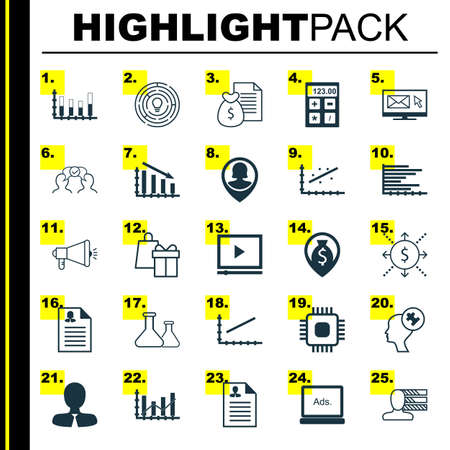 raise: Set Of 25 Universal Icons On Innovation, Raise Diagram, Money Navigation And More Topics. Vector Icon Set Including Manager, Money, Financial Icons. Illustration