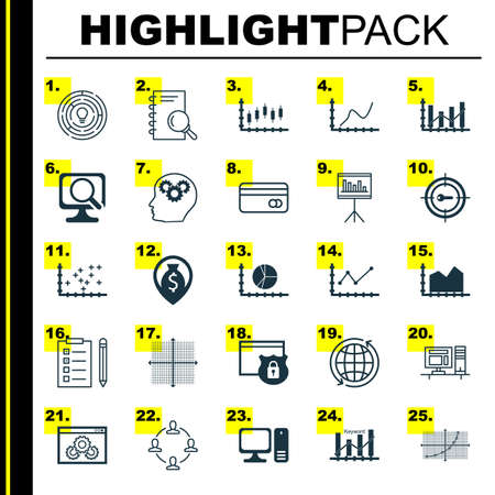 Set of 25 universal icons on changes graph plot diagram website set of 25 universal icons on changes graph plot diagram website royalty free cliparts vectors and stock illustration image 64173558 ccuart Image collections