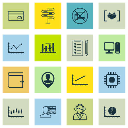 line up: Set Of 16 Universal Editable Icons For Human Resources, Airport And Computer Hardware Topics. Includes Icons Such As Chip, Operator, Line Up And More.