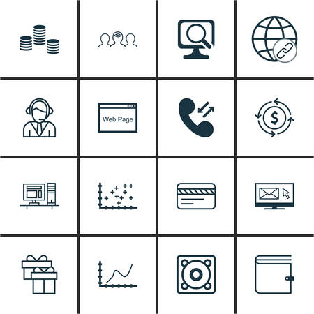 money wallet: Set Of 16 Universal Editable Icons For Airport, SEO And Computer Hardware Topics. Includes Icons Such As Money, Wallet, Computer And More.
