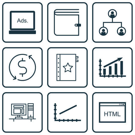 tree service business: Set Of 9 Universal Editable Icons For Advertising, Statistics And Marketing Topics. Includes Icons Such As Line Up, Digital Media, Coding And More.