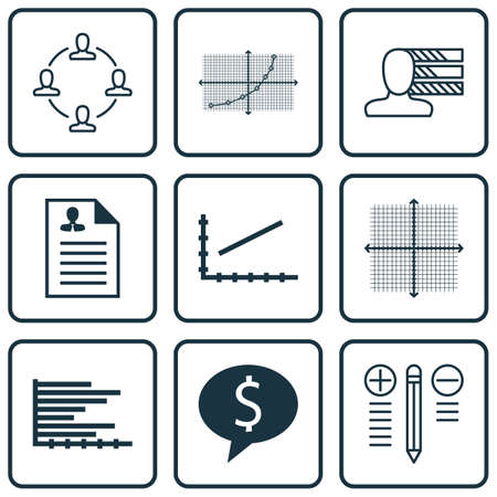 line up: Set Of 9 Universal Editable Icons For Statistics, Human Resources And Project Management Topics. Includes Icons Such As Line Up, Curriculum Vitae, Line Up And More.