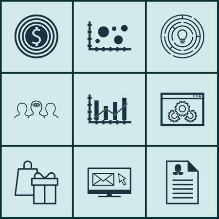 raise: Set Of 9 Universal Editable Icons For Human Resources, Airport And Marketing Topics. Includes Icons Such As Raise Diagram, Female Application, Shopping And More.