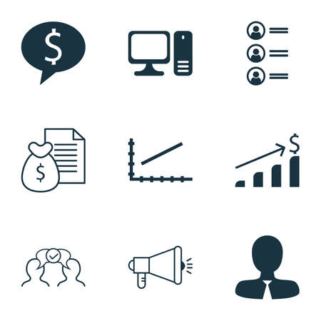 list of successful candidates: Set Of 9 Universal Editable Icons For Human Resources, Project Management And Advertising Topics. Includes Icons Such As Report, Desktop Computer, Media Campaign And More.