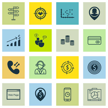 group travel: Set Of 16 Universal Editable Icons For Travel, Project Management And Advertising Topics. Includes Icons Such As Opportunity, Focus Group, Board And More.