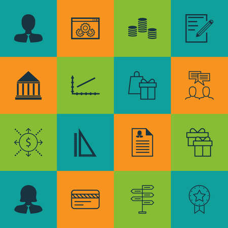 pillar box: Set Of 16 Universal Editable Icons For Project Management, Education And Airport Topics. Includes Icons Such As Education Center, Female Application, Line Up And More.